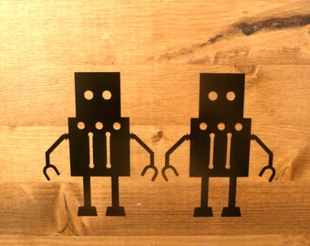 Robot Vinyl Decal (Set of 6)