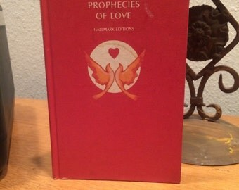 Vintage book prophecies of love kahill Gibran reflections