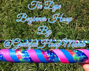 Tie-Dye Beginner Hoop
