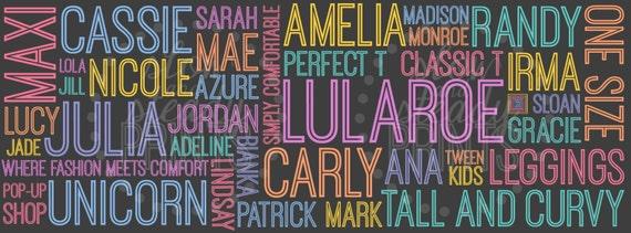 Lularoe Facebook Cover DIGITAL DOWNLOAD By SlowAndSteadyPrints