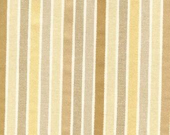 Sanddrift Stripe Brown Fabric