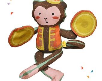 Gypsy Monkey Plush