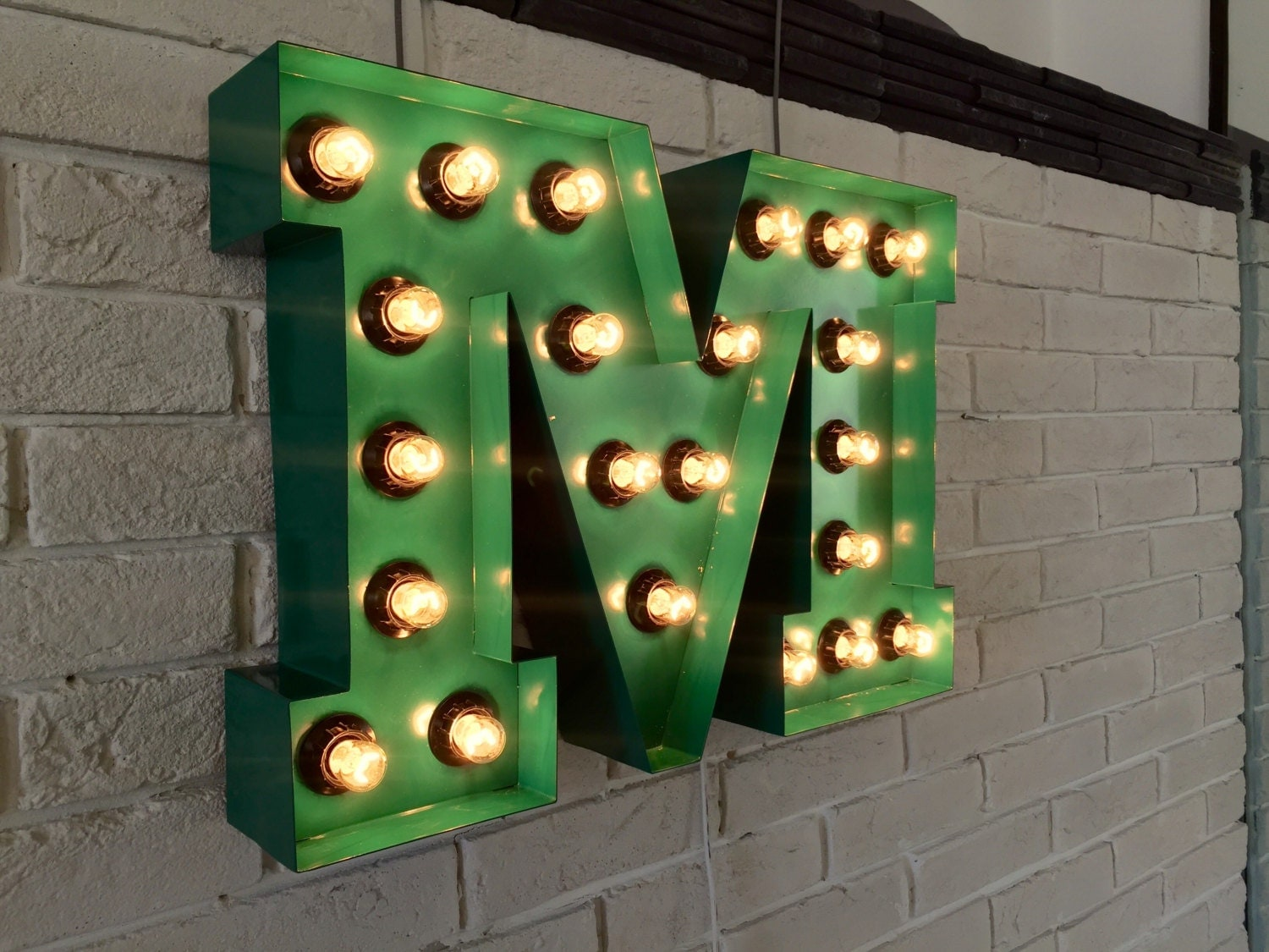 light up wall letters vintage light bulb letter wall light light up letter m sign 23444 | il fullxfull.938043526 pwd8