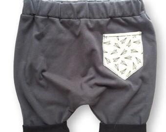 Pocket shorts +version charcoal+