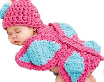 Handmade newborn Butterfly photo prop