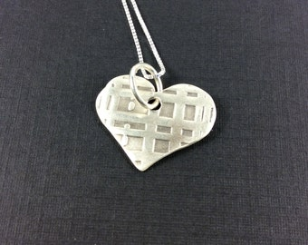 Necklace Squares on Heart