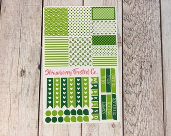 Turtle Themed Planner Stickers - Made to fit Vertical Layout