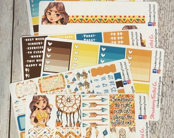 Right Path---- Weekly Planner Kit ---- {Includes 210+ Stickers}