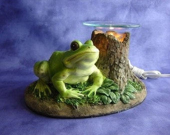 Frog Wax Warmer Oil Diffuser Lamp with Dimmer Switch
