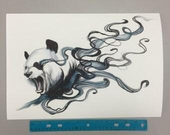 Dissapearing Panda Print