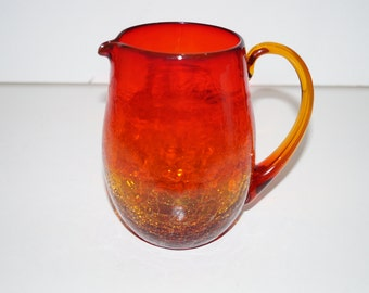 Amberina Pitcher