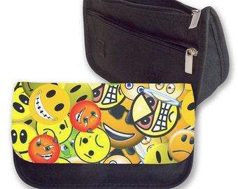Smilies together Pencil case/ Make up bag