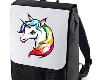 Unicorn Backpack (Fantasy) BAGBASE