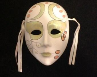 Ceramic Clown Face