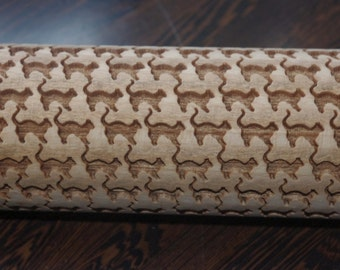 engraved rolling pin with cats1