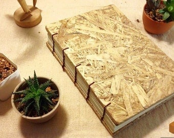 Wood Cover Book