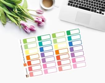 Event Quarter Box Planner Stickers - CAM00120