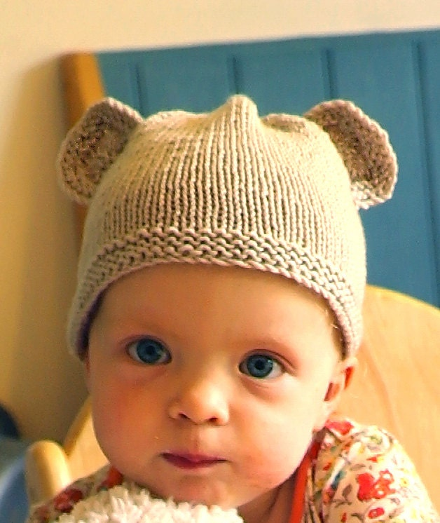 How To Knit A Baby Bear Hat 400