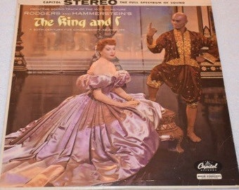 VG+ Free Shipping Rogers and Hammerstein - The King and I - SW 740 LP Vinyl Record Album