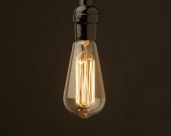Edison Bulbs, Industrial Lighting, 60 Watt Bulb, Vintage Bulbs,