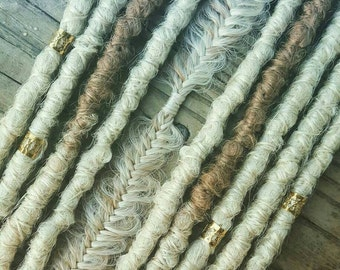 Dreadlock Extensions, Synthetic Dreadlocks, Blonde Ombre Bohemian Dreadlocks