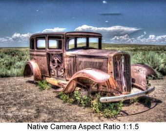 Left Behind on Old RT 66: Still life art photography prints for home or office wall decor.
