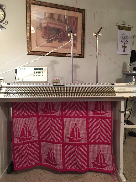 Knitting Machine Tutorial : Seven afghans for the e audio tutorial