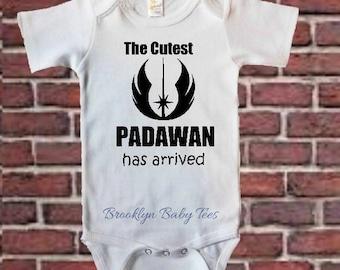 Star Wars Onesie, Padawan Bodysuit, Jedi Baby, Baby Shower Gifts,  PadawanBaby T-Shirt,  Jedi Bodysuits, Onesie Gifts, Jedi Bodysuit