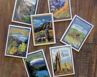 Colorado Series Magnets: Choose from Many from The Bungalow Craft by Julie Leidel
