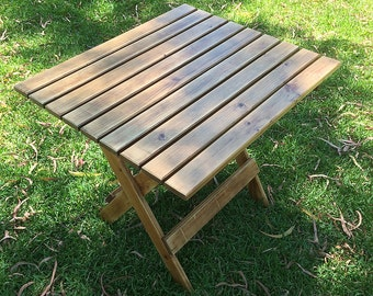 Reclaimed Wood Picnic Patio Outdoor Table - Outdoor Furniture