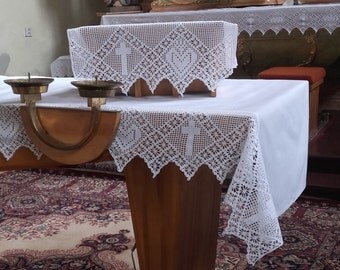 Religious Tablecloth Etsy