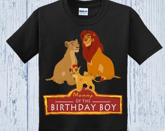 Lion Guard Birthday Mom Shirt