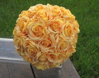 Rose Bridal Bouquet - Stunning Rose Wedding Bouquet  Available in 7 Different Colours