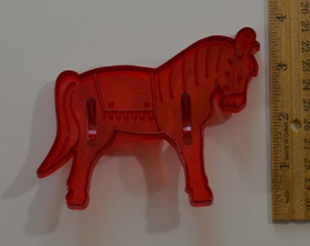 """Vintage DOMAR CIRCUS HORSE Cookie Cutter 