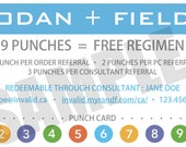 Rodan + Fields Referral Card