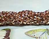 4mm Glass Beads, 50 Pcs. APOLLO GOLD Czech Fire Polished Round Glass Bead Supply
