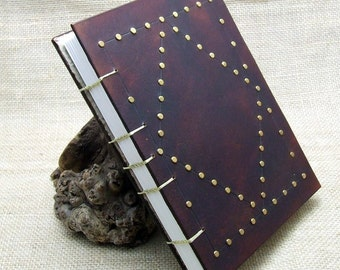 Leather Journal Diary Notebook Medieval A5 Handmade