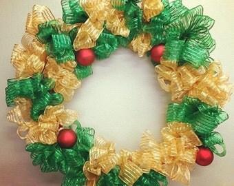 Ribbon Wreath (16 inches)