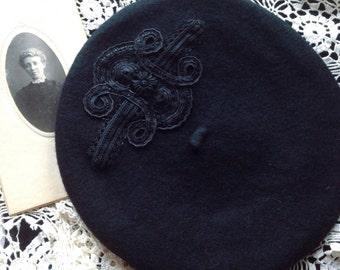Edwardian Elegance beret