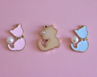 Kitten Charms (Purchase with Collar)