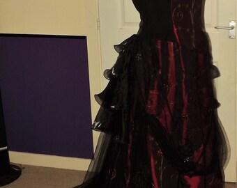 Victorian, Gothic, Vampire, wedding dress, size 12