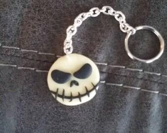 Jack skelington keychain