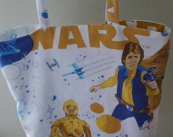 Star wars tote bag.
