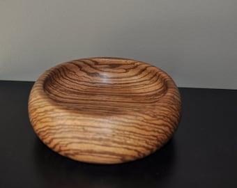 Zebrawood bowl