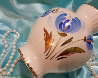 USSR porcelain flower vase made in USSR