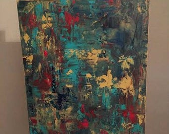 Hand Painted Original Modern Abstract