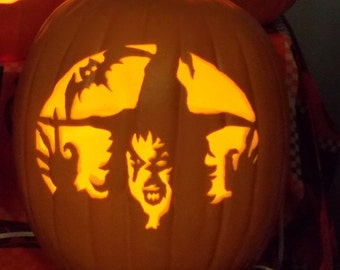 """Witch  Face 13"""" Foam Pumpkin"""