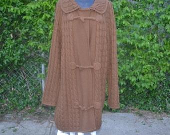 Lambswool Brown sweater