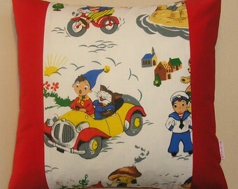 Red's Noddy goes to Town cushions