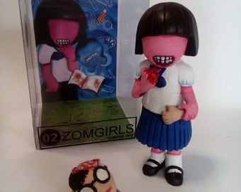 No.02 Zomgirls in Sleep waleaker series 2016, 35 limited edition